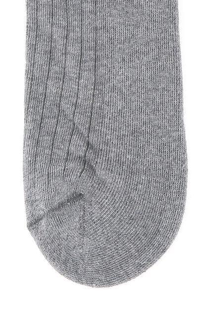 Grey stretch cotton socks