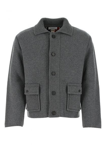 Dark grey wool jacket