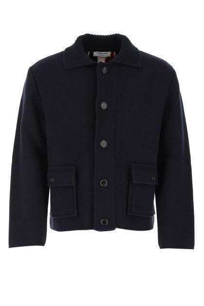 Midnight blue wool jacket