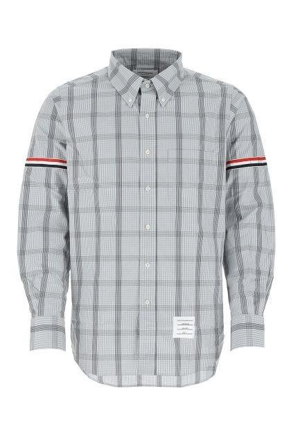 Printed popeline shirt