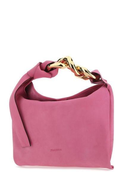 Pink Nabuk handbag