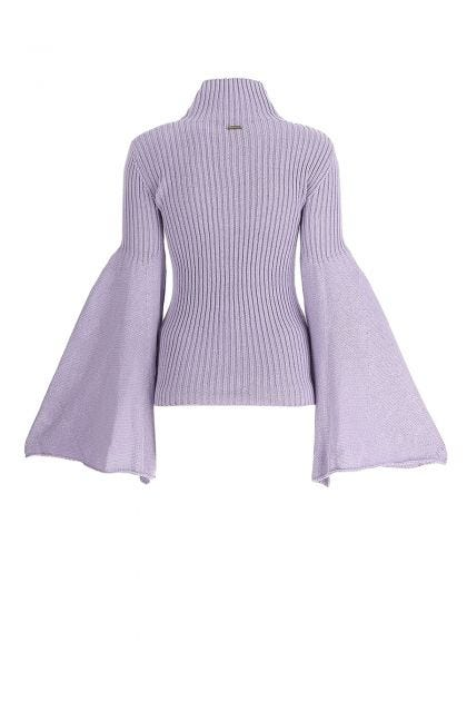 Lilac cotton sweater
