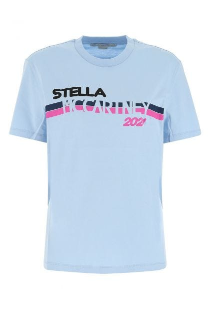 Light blue cotton t-shirt