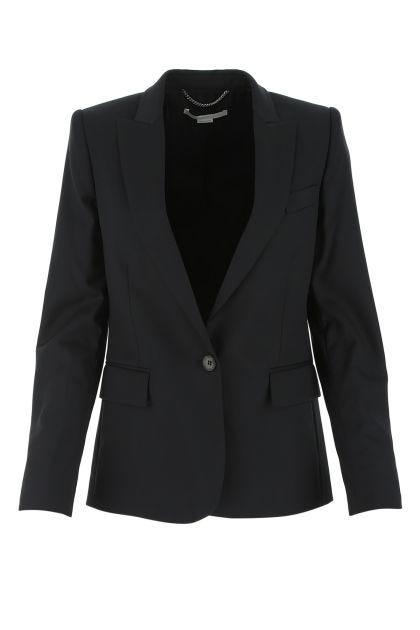 Black light wool blazer