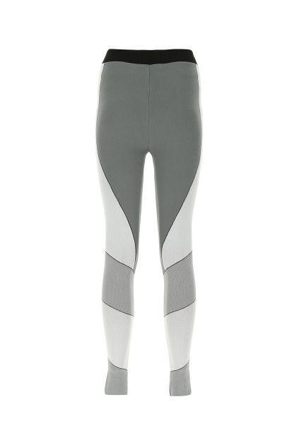 Multicolor stretch nylon leggings