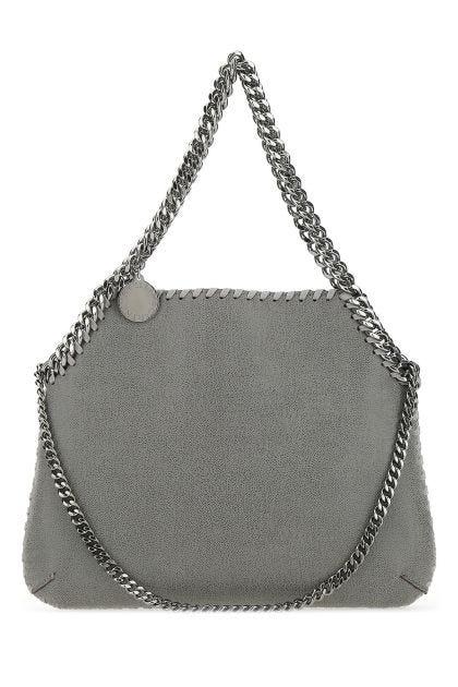 Grey shaggy deer medium Falabella handbag