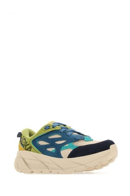 Multicolor leather Clifton L sneakers