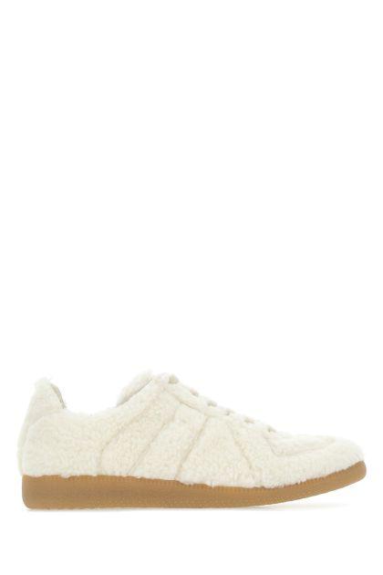 White eco fur Replica sneakers