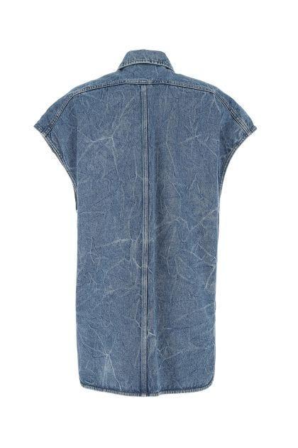 Denim Vassie sleeveless jacket