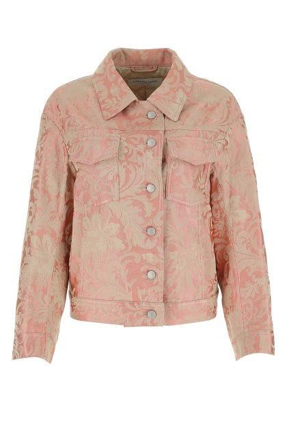 Two-tone brocade Vonda jacket
