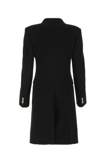 Black wool blend Parigi coat