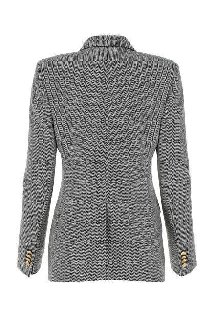 Embroidered virgin wool J-Parigi blazer