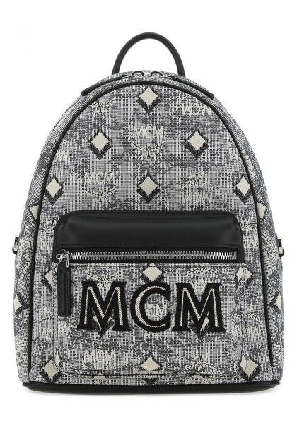 Embroidered fabric Stark backpack