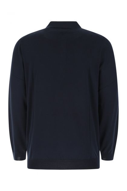 Midnight blue wool top