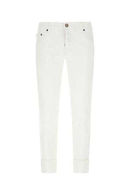 White denim Dub jeans