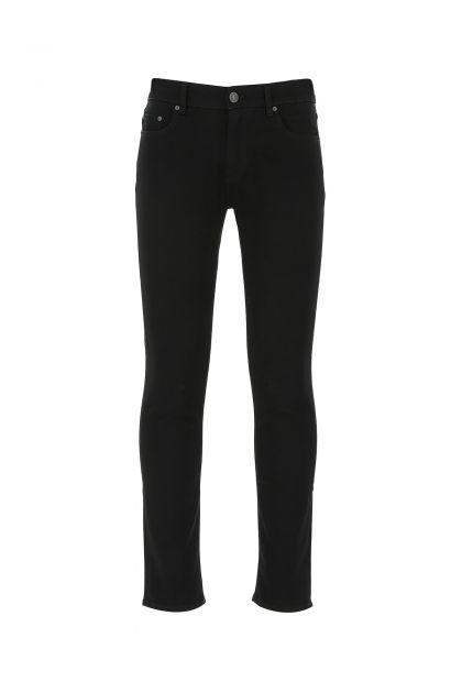 Black denim Rock jeans