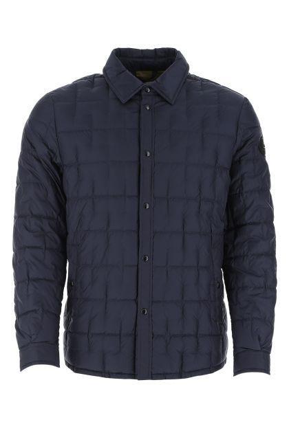 Blue nylon Deepsix padded shirt