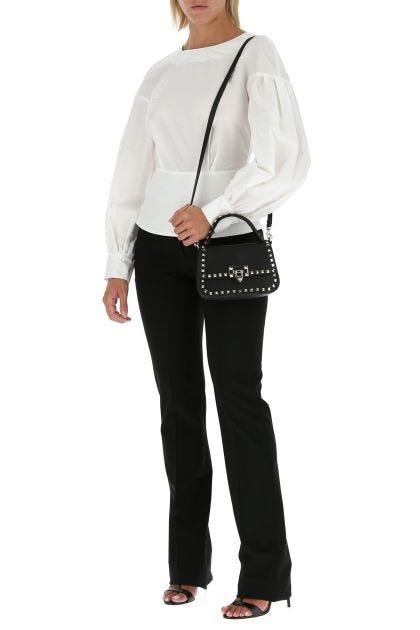 White popeline Zibetto blouse