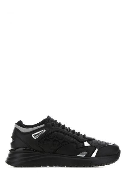 Black leather Now sneakers