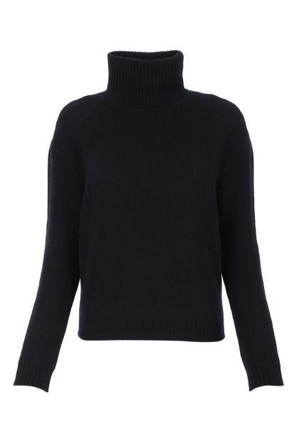 Black cashmere sweatshirt