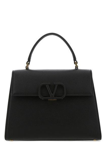 Black leather small Vsling handbag
