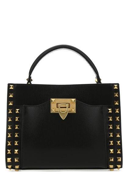 Black leather Alcove handbag