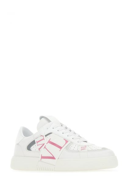 White leather VL7N sneakers