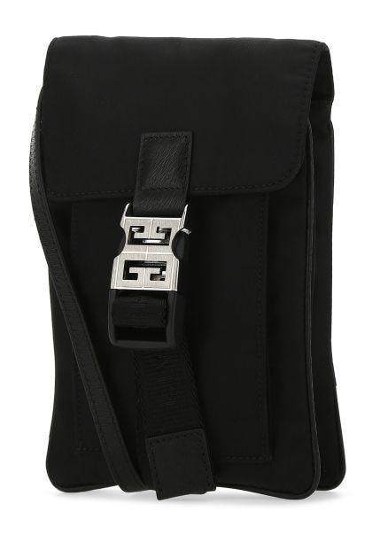 Black nylon blend 4G Light pouch