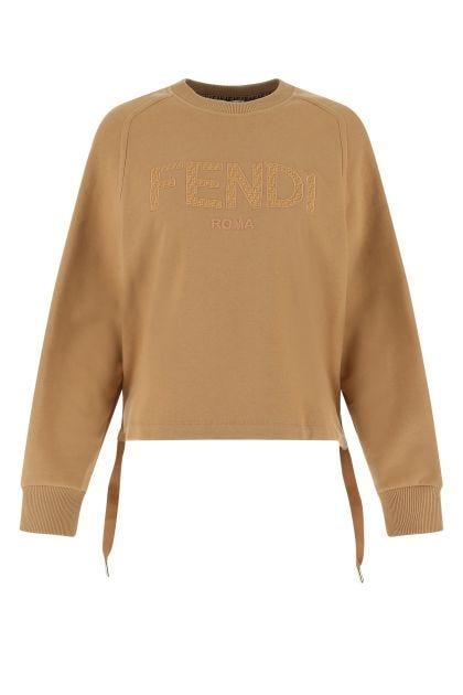 Biscuit cotton sweatshirt