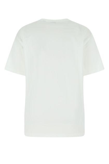 White oversize cotton t-shirt