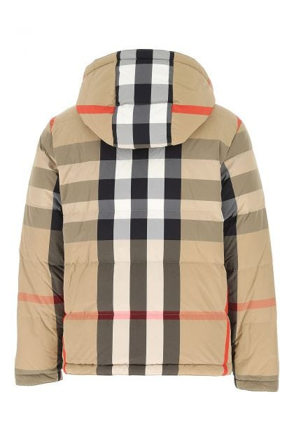 Printed nylon down jacket