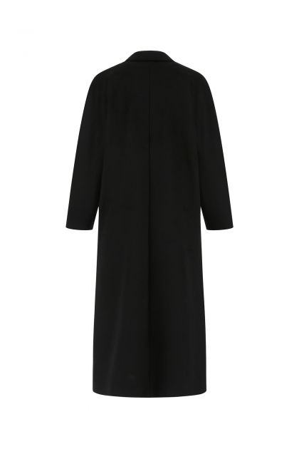 Black wool Crisma oversize coat