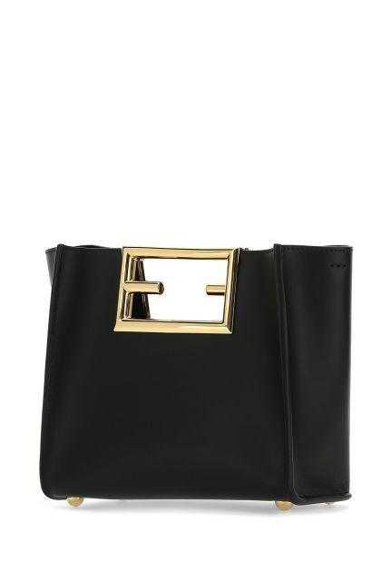 Black leather small Fendi Way handbag