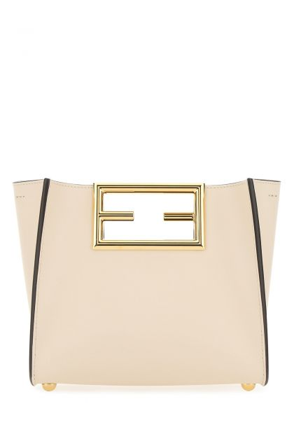Ivory leather small Fendi Way handbag