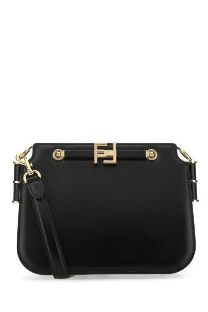 Black leather Fendi Touch shoulder bag