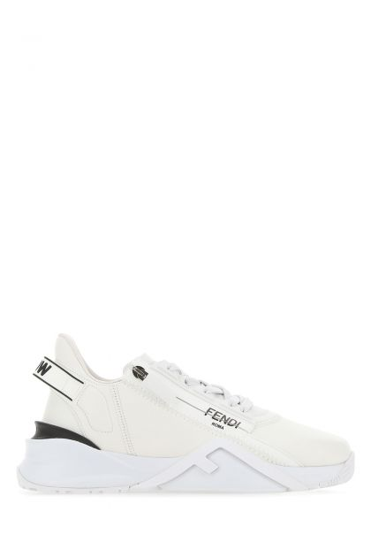 White leather Flow sneakers