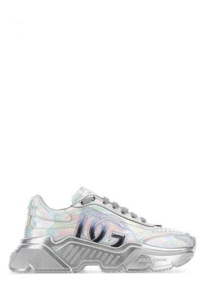 Holographic leather Daymaster sneakers