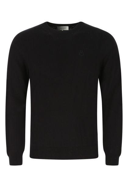 Black cotton blend Elmy sweater