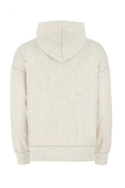 Melange ivory cotton blend Miley sweatshirt