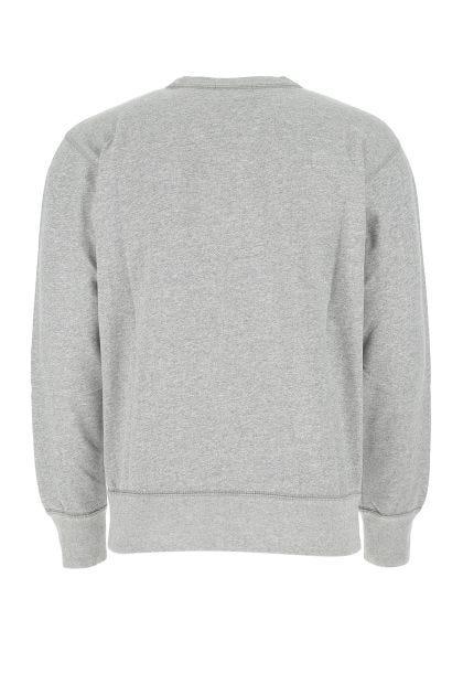 Melangè grey cotton blend Mike sweatshirt
