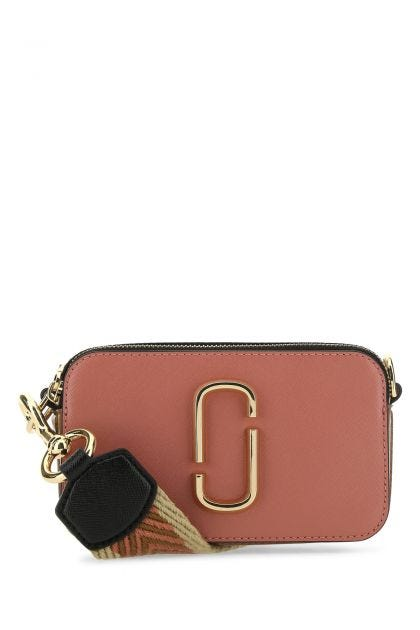 Multicolor leather Logo Strap Snapshot crossbody bag