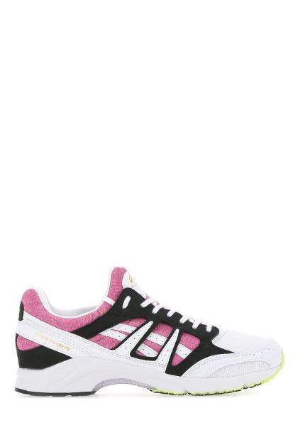 Multicolor fabric sneakers
