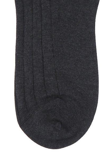 Two-tone cotton socks