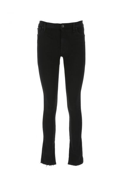 Black denim stretch Kaia jeans
