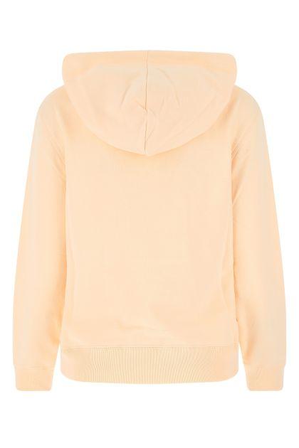 Peach cotton sweatshirt