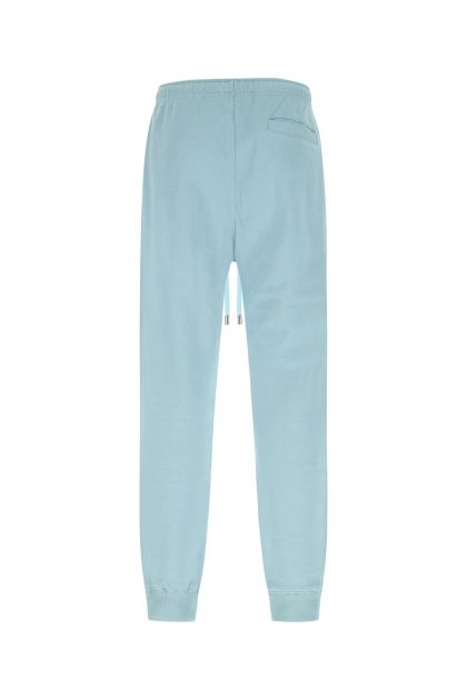 Light blue cotton joggers