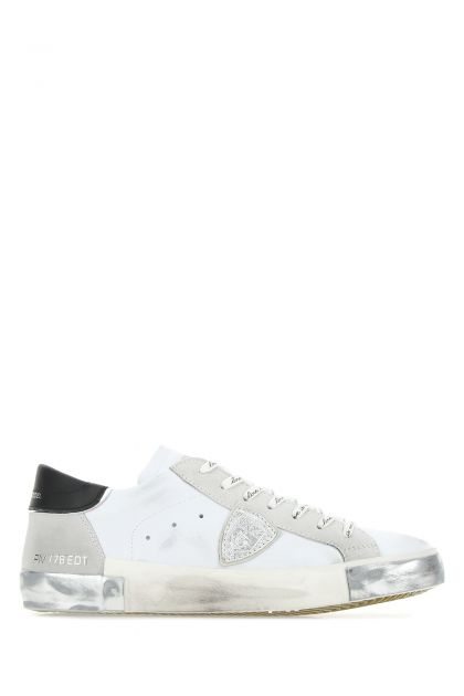 White leather PRSX Foxy Laminé sneakers