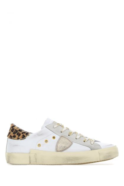 Multicolor leather PRLD sneakers