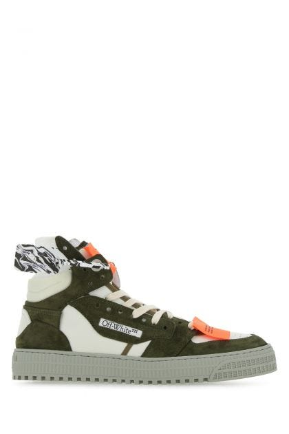 Multicolor leather and fabric Off-court Supreme 3.0 sneakers