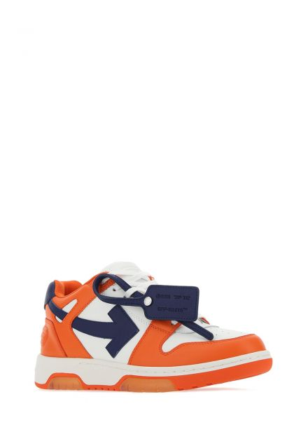 Multicolor leather Out Of Office sneakers